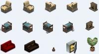 Мебель (2) для аналога игры Sims