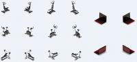 Техника и тренажеры для аналога игры Sims
