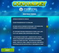 Окошко Справка для игры Catch Money