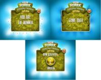 Экраны для промо-игры Тир (сайт+Вконтакте+Фейсбук)