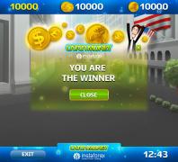 Окошко победы для игры Catch Money