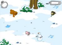 Пример локации, персонажей для игры Свен