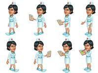 Работница регистратуры в игре Городская больница