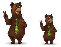 Мишка для промо-игры Тир (сайт+Вконтакте+Фейсбук)