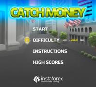 Главное меню для Catch Money