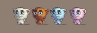 Концепт персонажей для детской игры