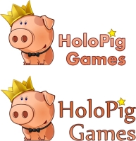 Поросёнок для логотипа компании флеш-игр