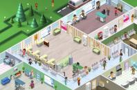 Палата частной клиники в игре Городская больница