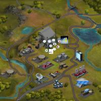 Графика для игры Нефтяной магнат