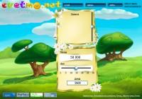 Главная страница в игре Цветмонет