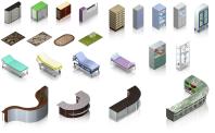 Мебель для игры Городская больница