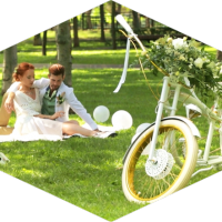 Вело свадьба | Bike Wedding