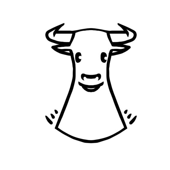 Создать рисунки быков, символа 2021 года, для реализации в м фото f_3005efe414ba7988.png