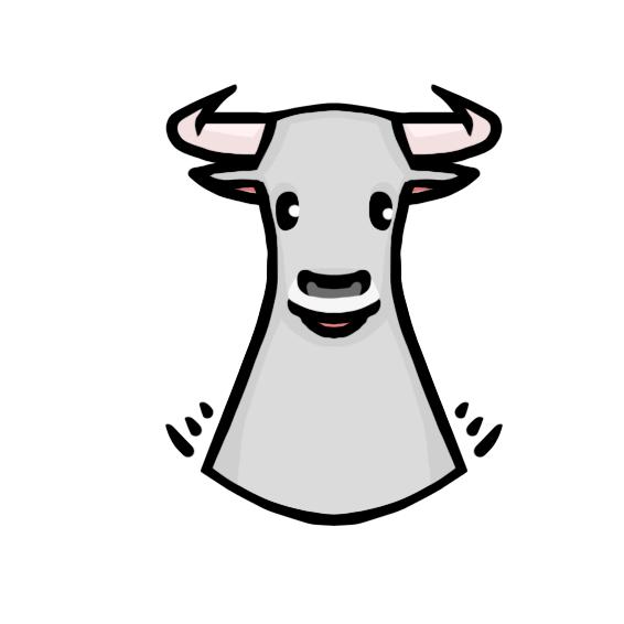 Создать рисунки быков, символа 2021 года, для реализации в м фото f_4725efe411f71a2e.png