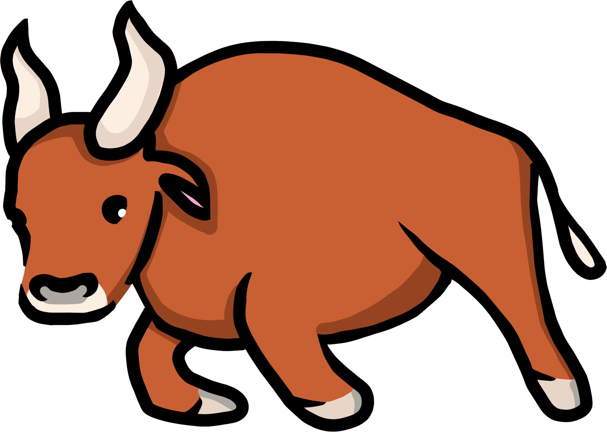 Создать рисунки быков, символа 2021 года, для реализации в м фото f_6245ee34b6446e0c.png