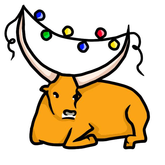 Создать рисунки быков, символа 2021 года, для реализации в м фото f_9625ef9aba77379e.png