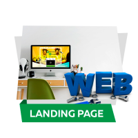 Верстка лендинга легендарного тренинга web-студии