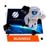 """Дизайн корпоративного сайта """"Sliceplanet"""""""
