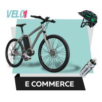 """Верстка интернет-магазина велосипедов """"Velo1"""""""