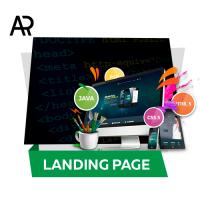 Разработка дизайна Lanfing страницы онлайн-обучения