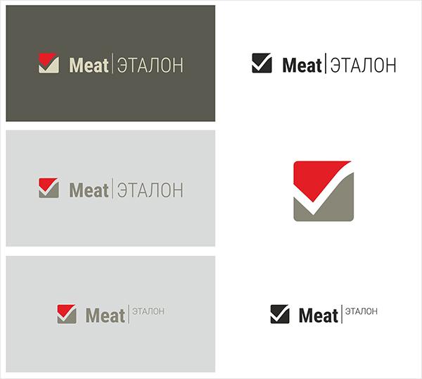 Логотип компании «Meat эталон» фото f_6205700807e4a117.jpg