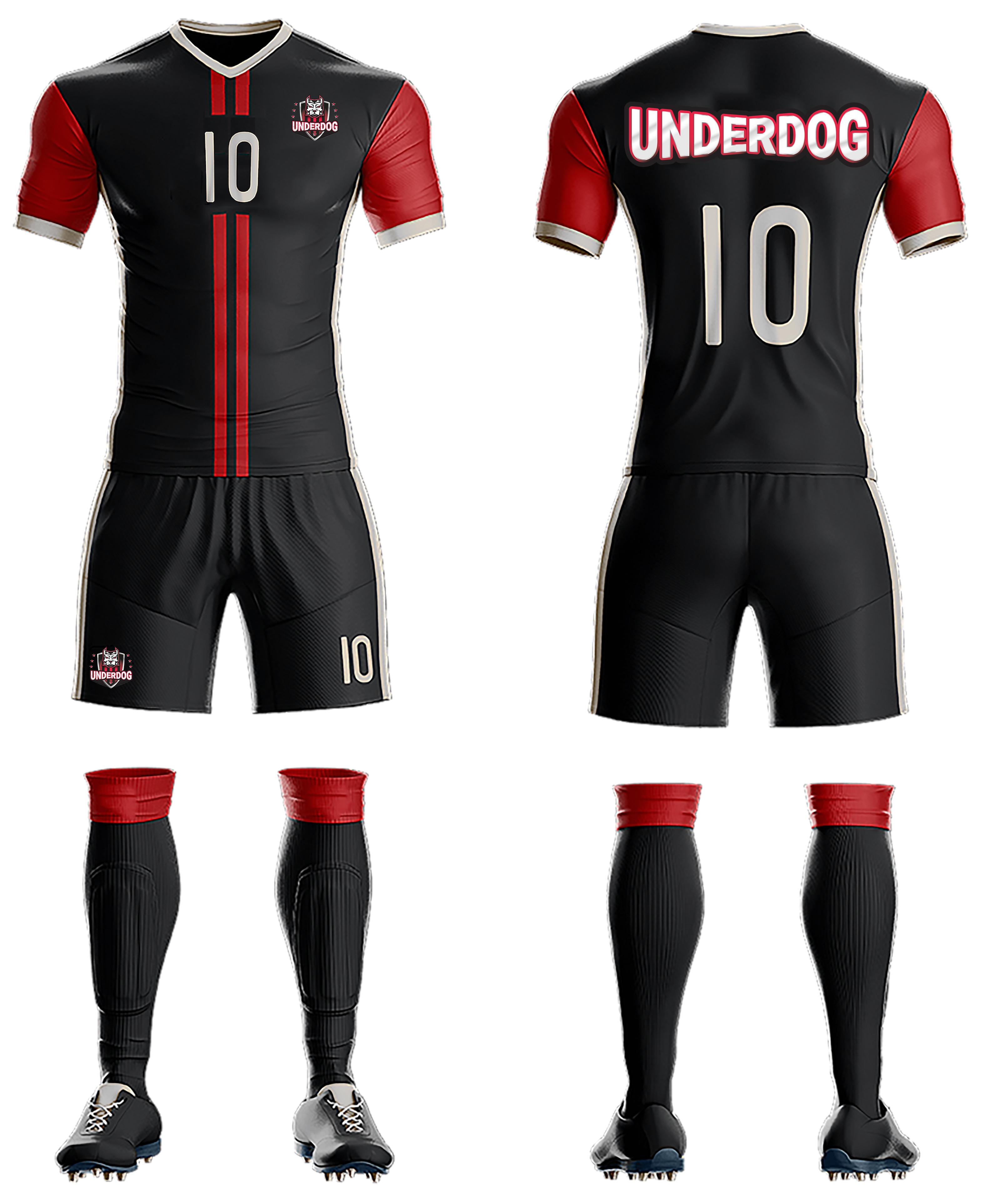 Футбольный клуб UNDERDOG - разработать фирстиль и бренд-бук фото f_0665cb06b7acff56.jpg