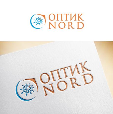 """Логотип салона оптики """"Оптик Nord"""""""