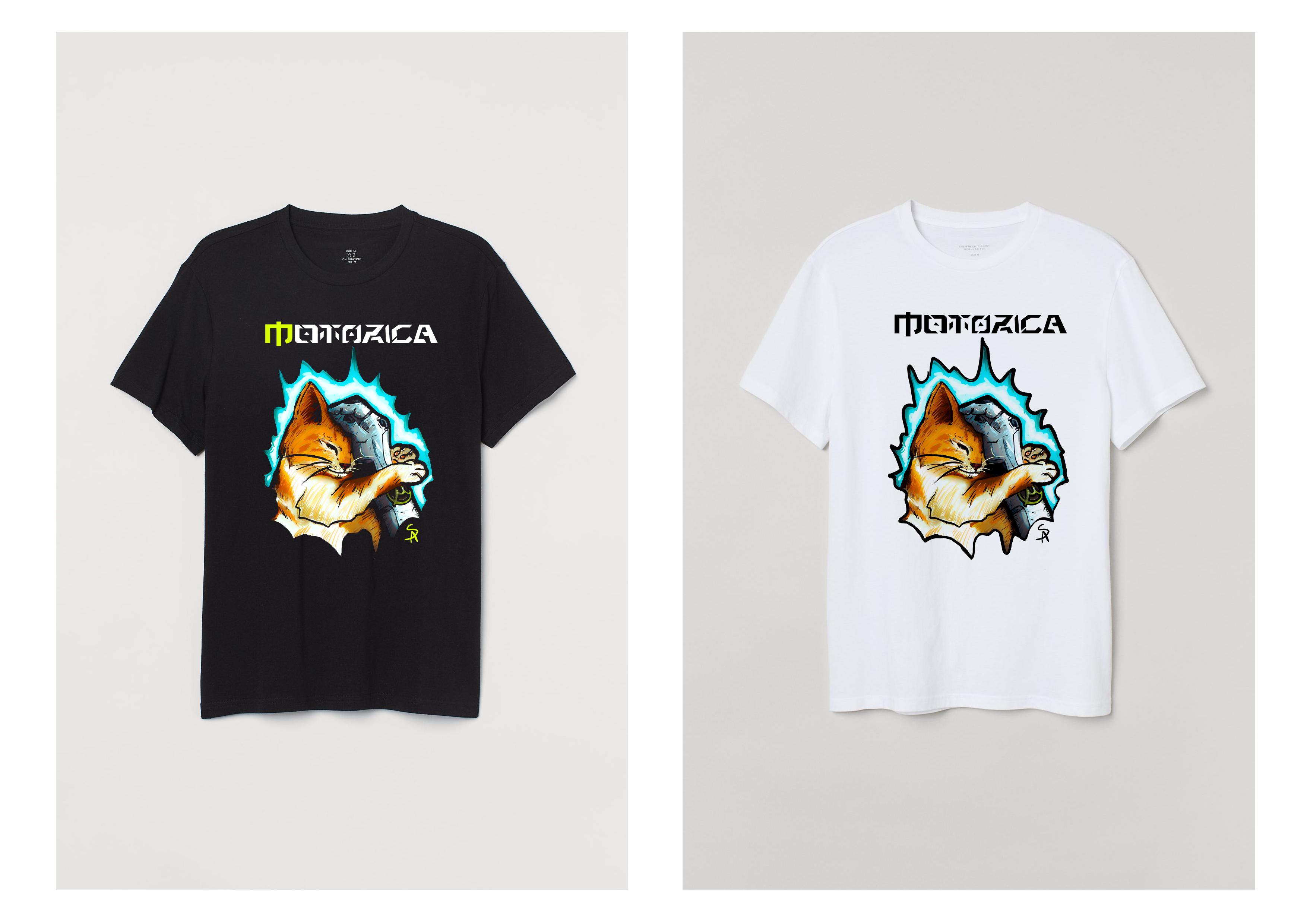 Нарисовать принты на футболки для компании Моторика фото f_167609ff4212893c.png