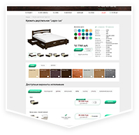 Интернет магазин мебели на Битрикс