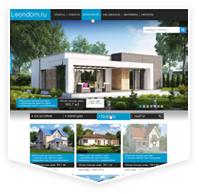 leondom.ru — проектирование и строительство домов