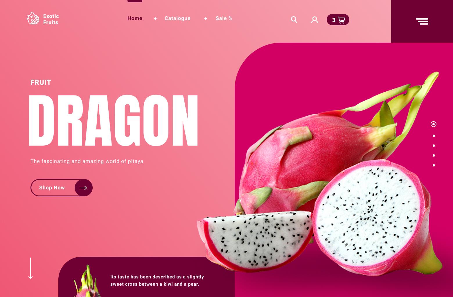 Concept Dragon Fruit