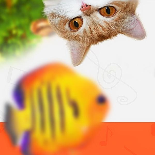 Шапка для канала Best cat games