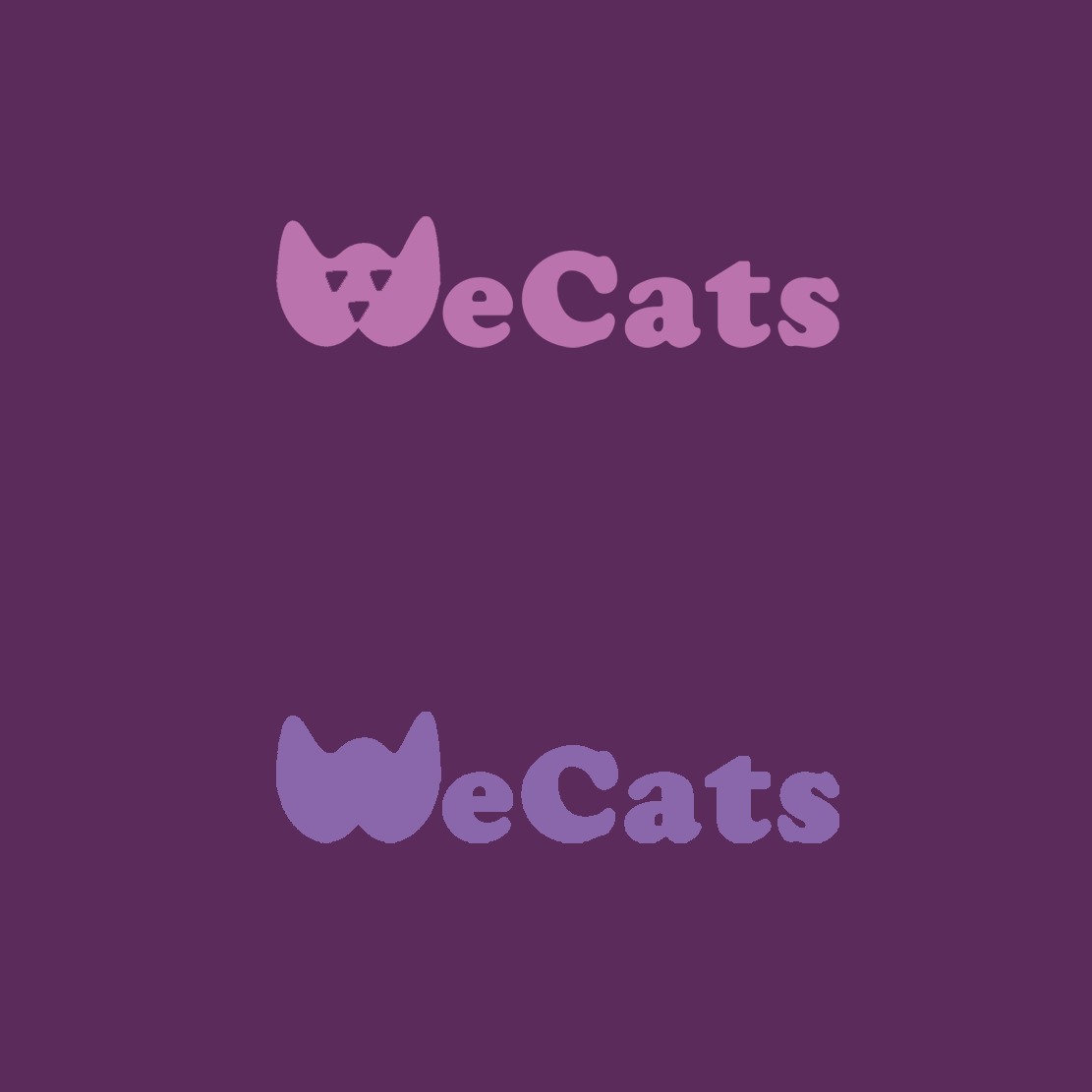 Создание логотипа WeCats фото f_7695f1b867b1e463.png
