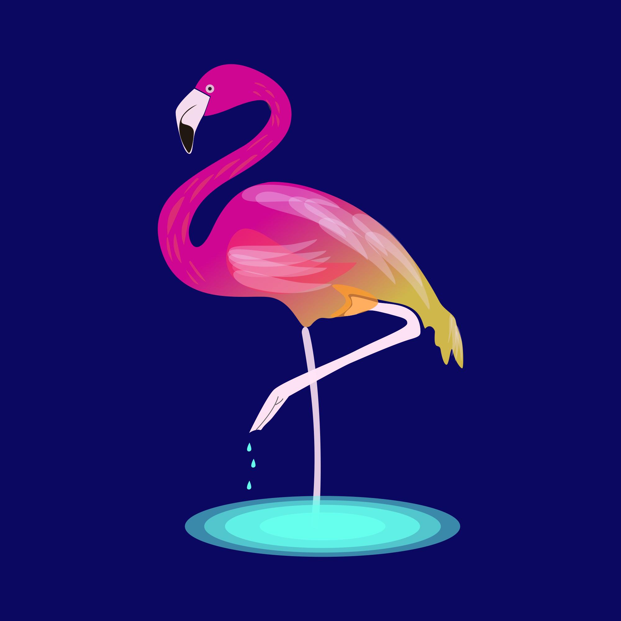 Фламинго 🦩
