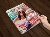Обложка журнала Weekend