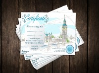 Сертификат курсы Английского