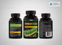 Этикетка Wheatgrass