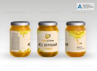 Этикетка Мёд и Соты