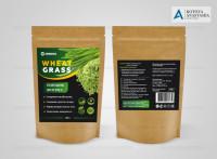 Дой пак Wheat Grass Порошок
