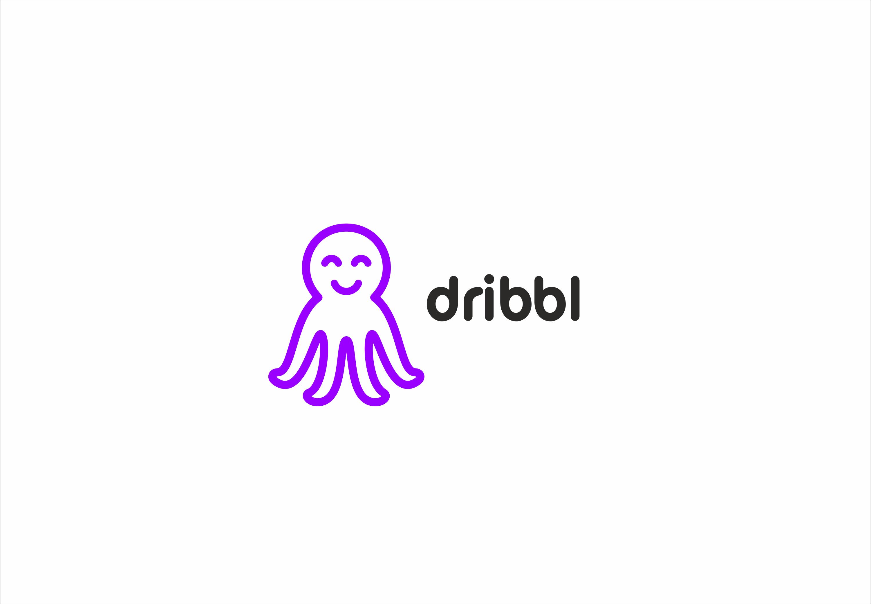 Разработка логотипа для сайта Dribbl.ru фото f_4615aa044bde5889.png