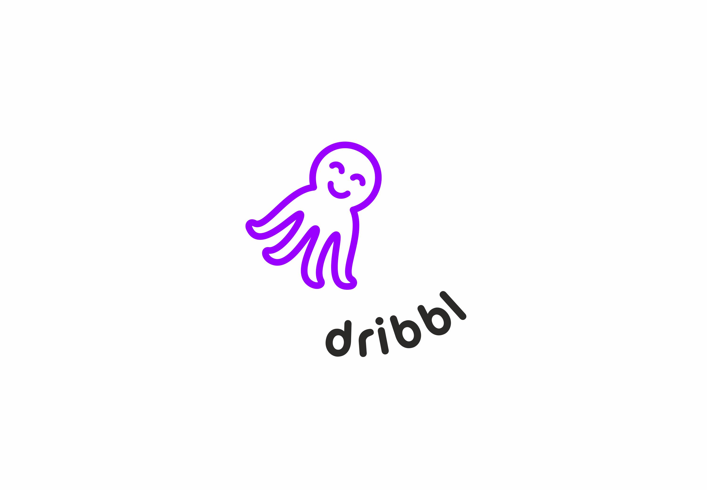 Разработка логотипа для сайта Dribbl.ru фото f_6485aa044b1e417a.png