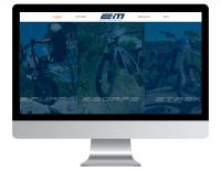 Сайт представительства мотоциклов Electric Motion - http://emrussia.ru/