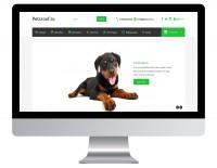 Магазин домиков для домашних животных на Opencart http://petsnew.andreaszak.ru/