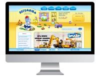 Интернет-магазин товаров для детей, спортивных тренажеров и профессиональной косметики