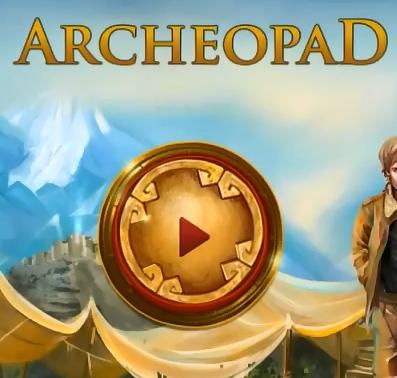 Мобильная логическая игра Archeopad