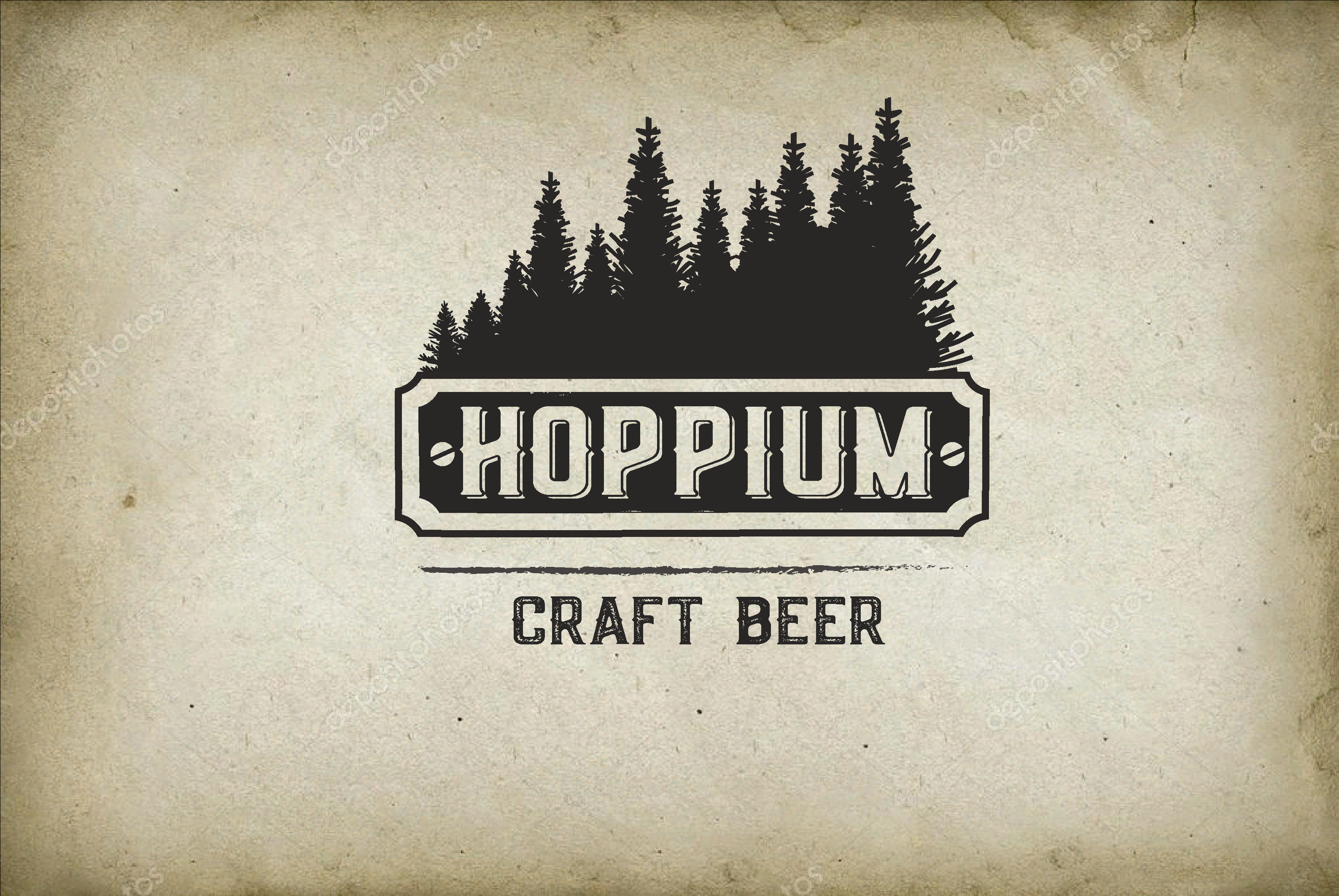 Логотип + Ценники для подмосковной крафтовой пивоварни фото f_2615dbfd355376d4.png