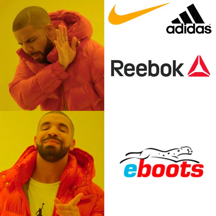 Создать мемы для магазина кроссовок Eboots, нативная реклама фото f_4555a53629d3dfaf.jpg