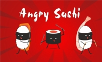 Продвижение Angry Sushi +5000 участников г.Одесса