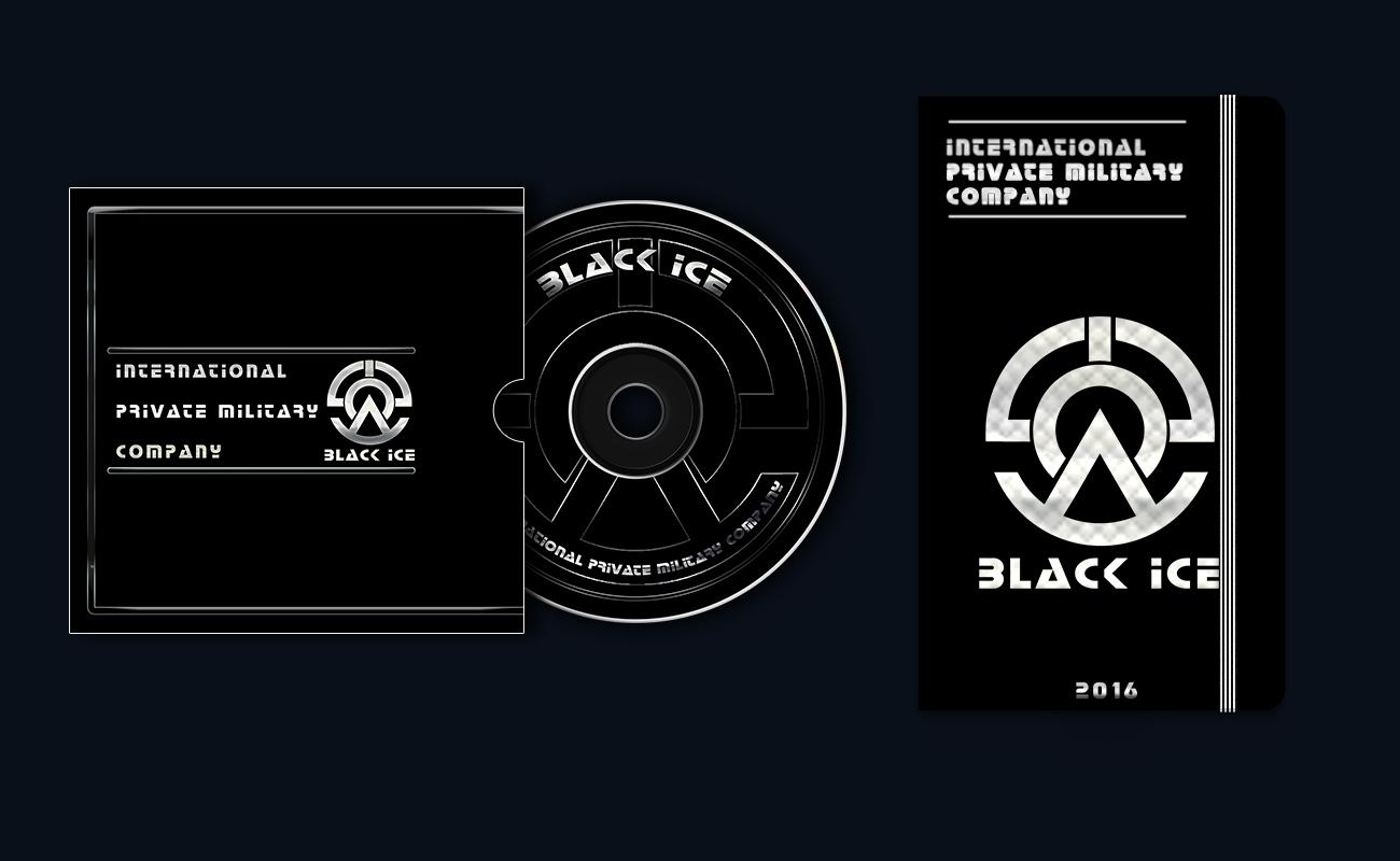 """Логотип + Фирменный стиль для компании """"BLACK ICE"""" фото f_61056e87d0810485.jpg"""