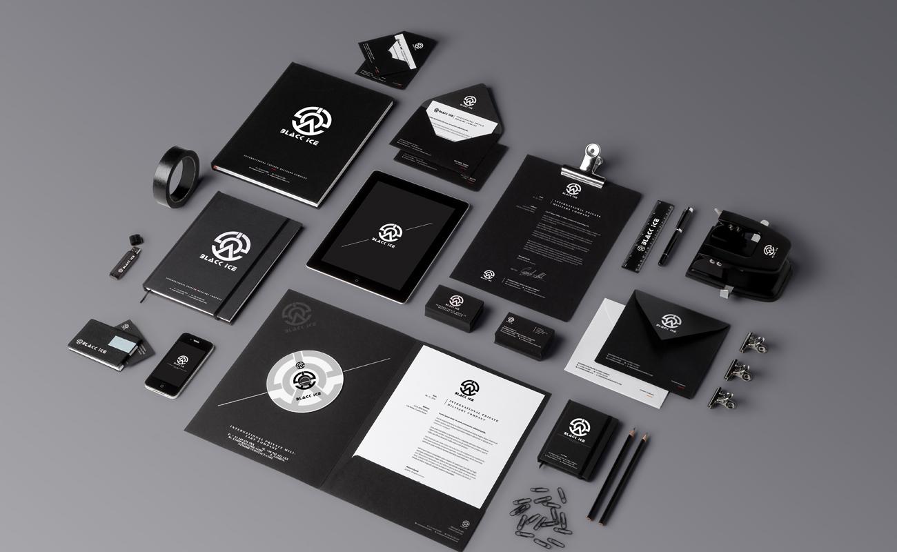 "Логотип + Фирменный стиль для компании ""BLACK ICE"" фото f_84856e40009e00a7.jpg"